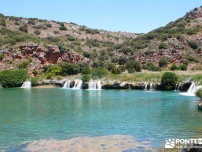 Lagunas de Ruidera; grupos de senderismo puente de la constitución cultura viajes